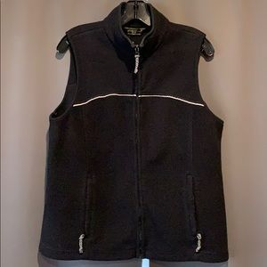 Women's Size Medium Black Eddie Bauer Vest